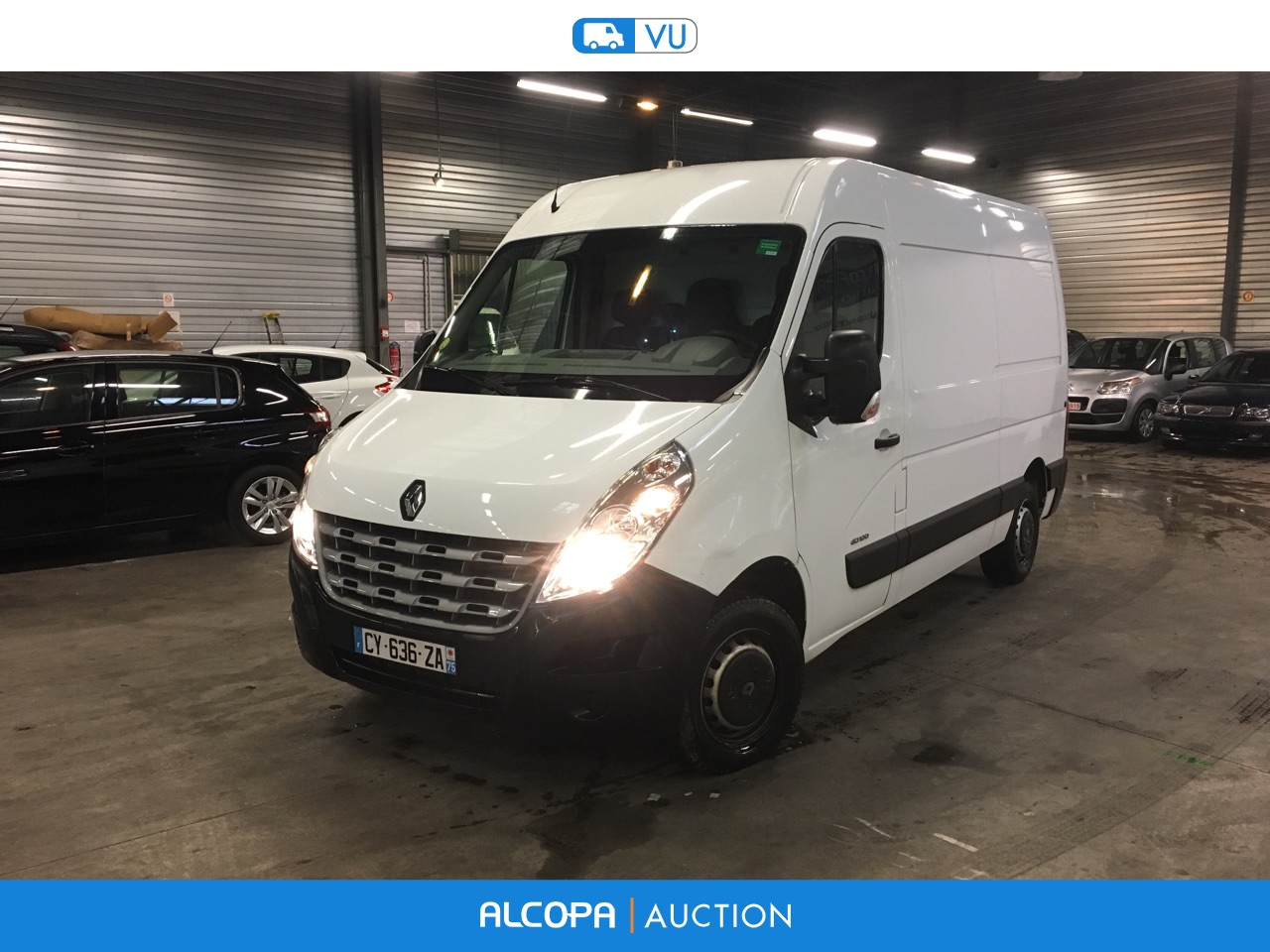 renault master master fg f3300 l2h2 dci 100 confort nancy alcopa auction. Black Bedroom Furniture Sets. Home Design Ideas
