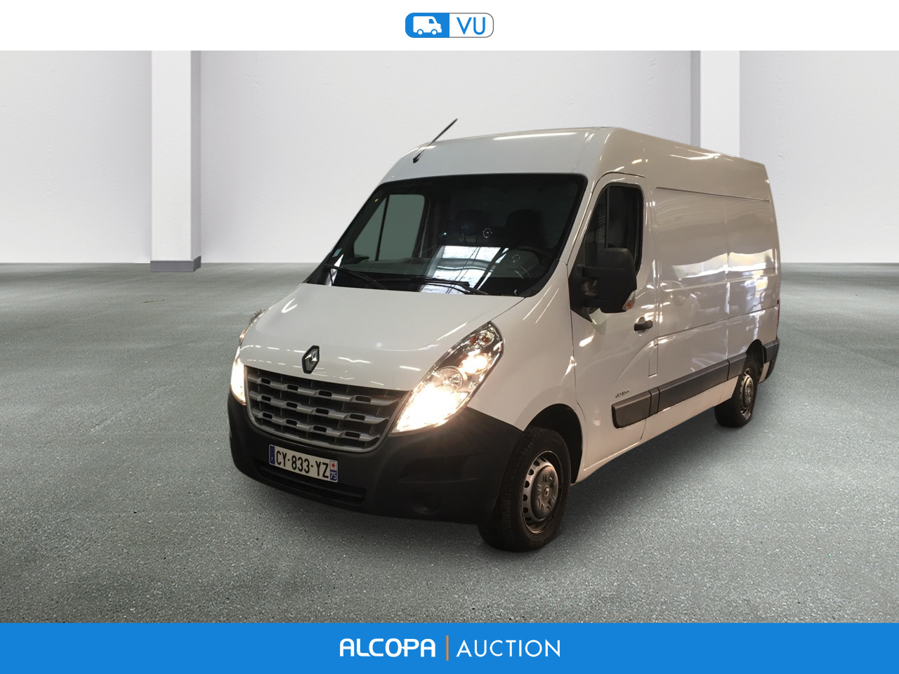 renault master master fg f3300 l2h2 dci 100 confort alcopa auction. Black Bedroom Furniture Sets. Home Design Ideas