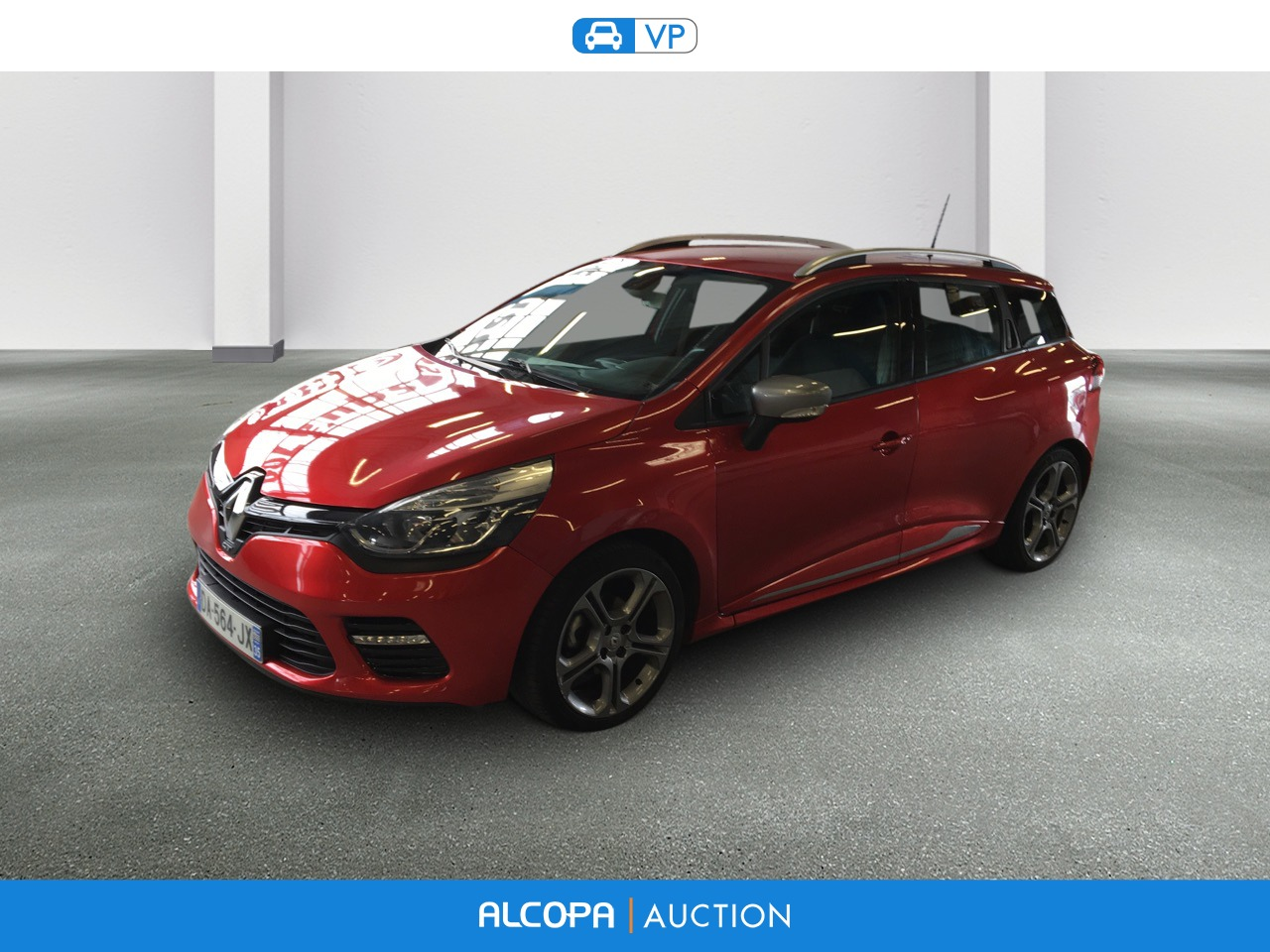 renault clio iv estate clio estate iv tce 120 gt edc alcopa auction. Black Bedroom Furniture Sets. Home Design Ideas