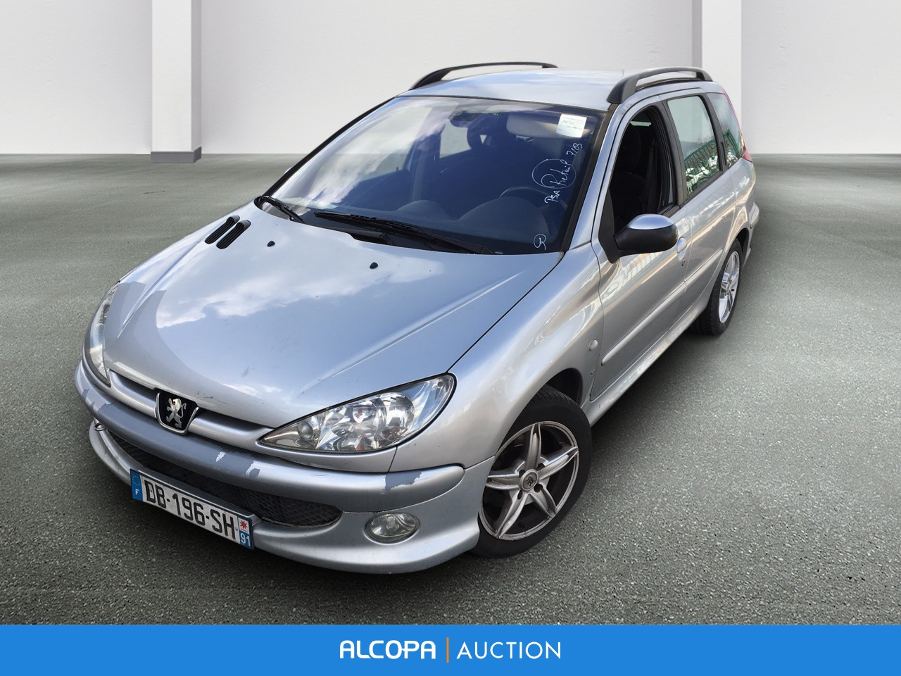 peugeot 206 sw 206 sw 2 0 hdi xs alcopa auction. Black Bedroom Furniture Sets. Home Design Ideas