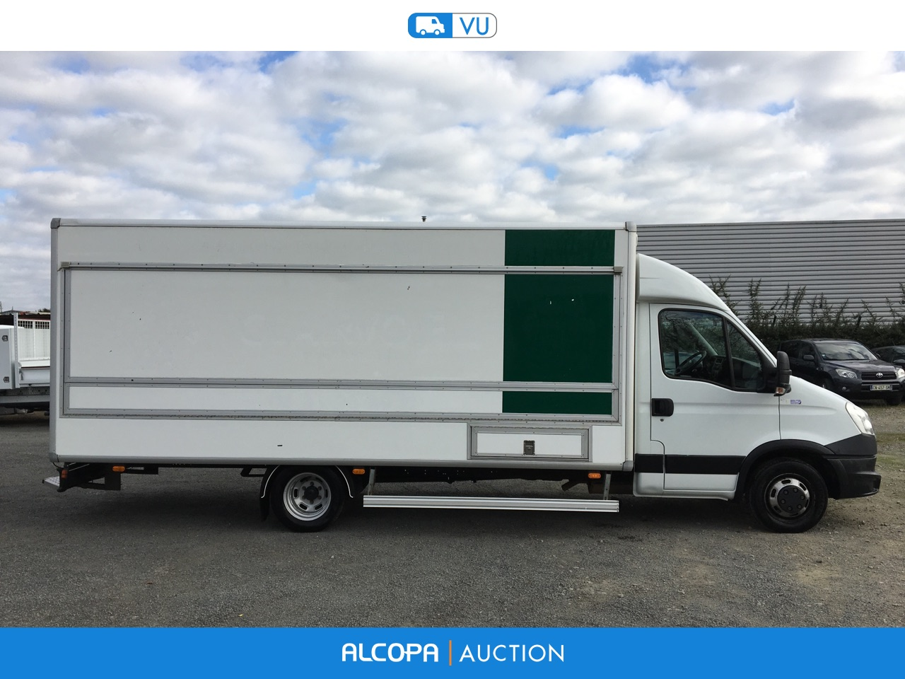 iveco daily daily 50c15l magasin tours alcopa auction. Black Bedroom Furniture Sets. Home Design Ideas