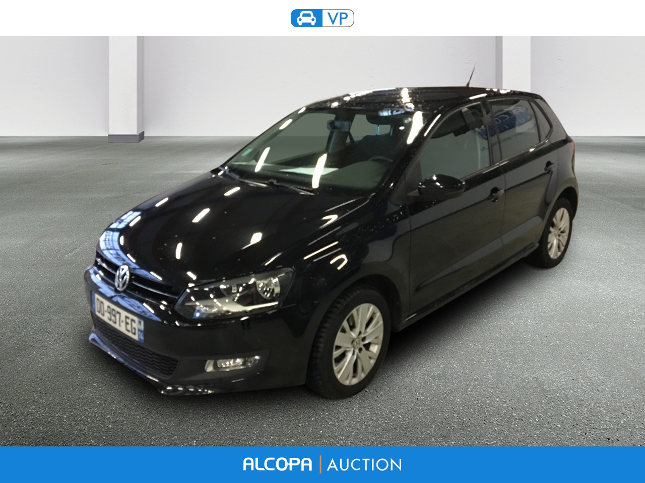 volkswagen polo 1 6 tdi 90 fap alcopa auction. Black Bedroom Furniture Sets. Home Design Ideas