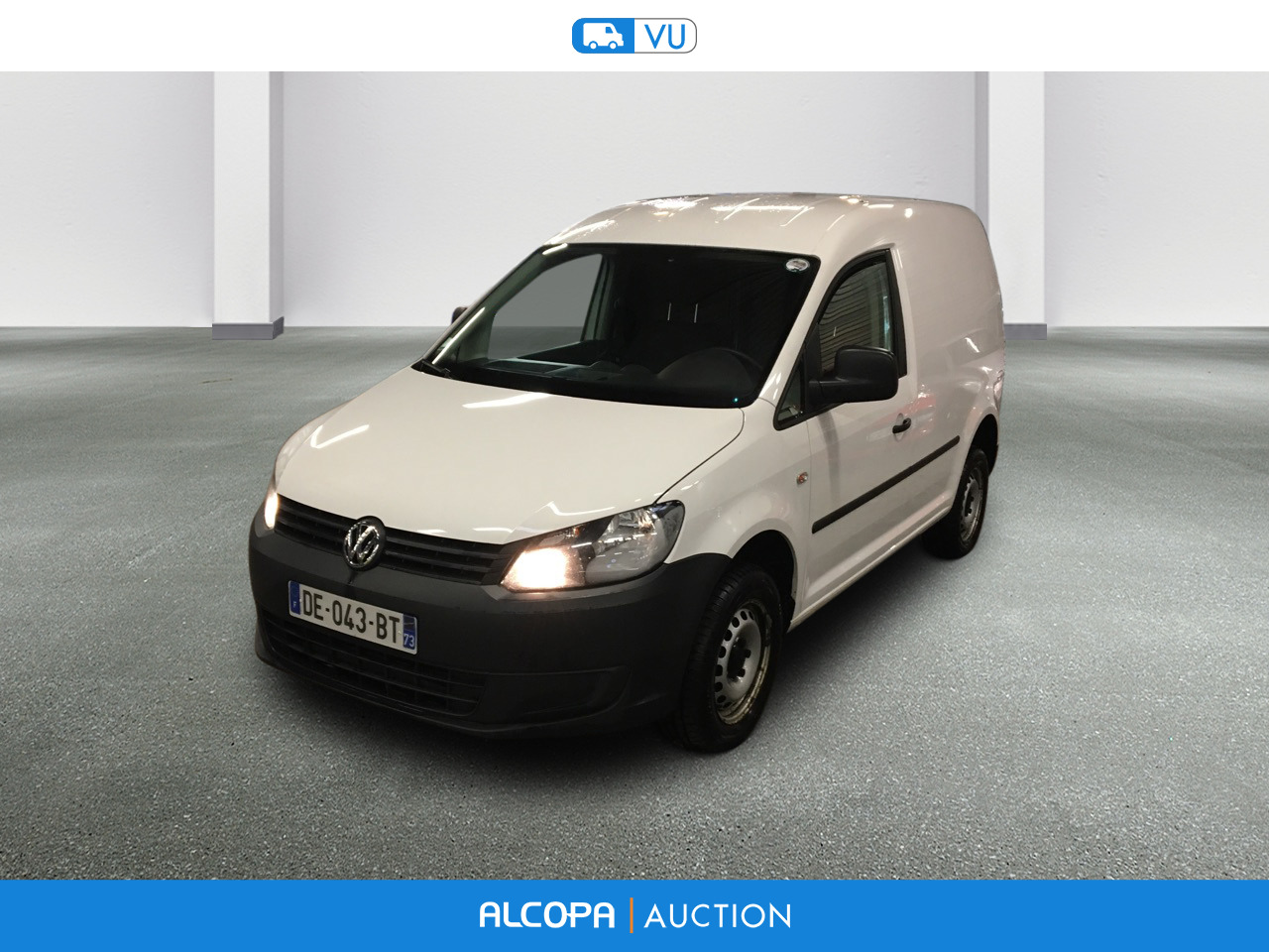 volkswagen caddy caddy van 2 0 tdi 140ch business line 4motion nancy alcopa auction. Black Bedroom Furniture Sets. Home Design Ideas