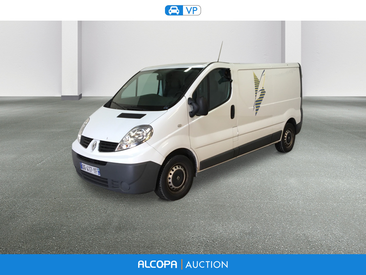 renault trafic trafic fg l2h1 1200kg dci 90 grand confort alcopa auction. Black Bedroom Furniture Sets. Home Design Ideas