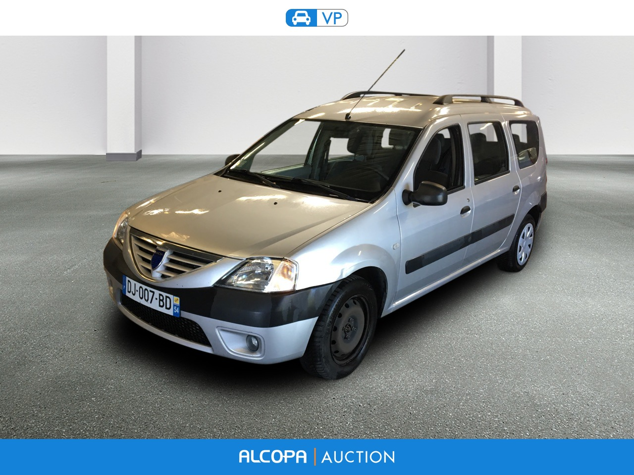 dacia logan mcv logan mcv 1 5 dci 85 7 places laur ate alcopa auction. Black Bedroom Furniture Sets. Home Design Ideas