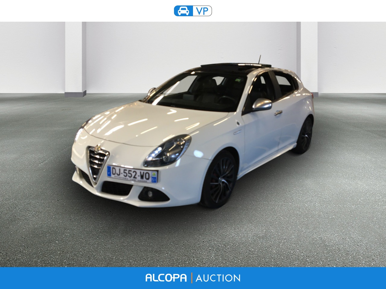 alfa romeo giulietta giulietta 1750 tbi 235 ch quadrifoglio verde alcopa auction. Black Bedroom Furniture Sets. Home Design Ideas