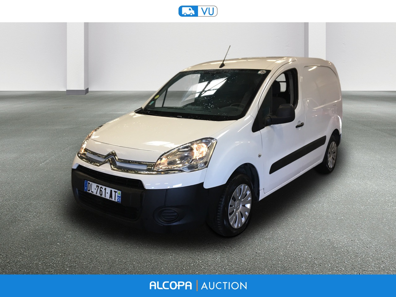 citroen berlingo fourgon berlingo 20 l1 hdi 75 business alcopa auction. Black Bedroom Furniture Sets. Home Design Ideas