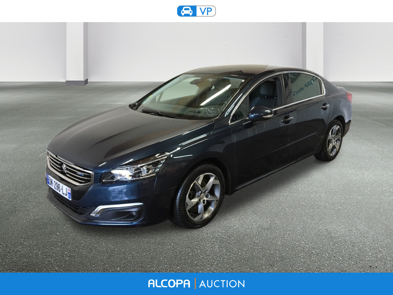 peugeot 508 508 2 0 bluehdi 180ch fap feline eat6 tours alcopa auction. Black Bedroom Furniture Sets. Home Design Ideas