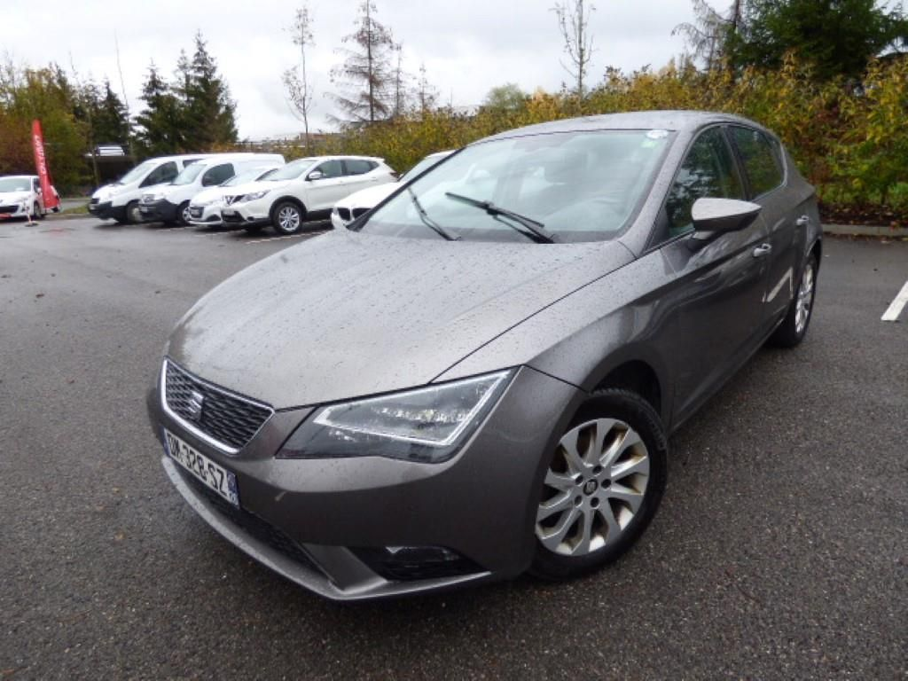 seat leon leon 1 6 tdi 105 start stop style alcopa auction. Black Bedroom Furniture Sets. Home Design Ideas