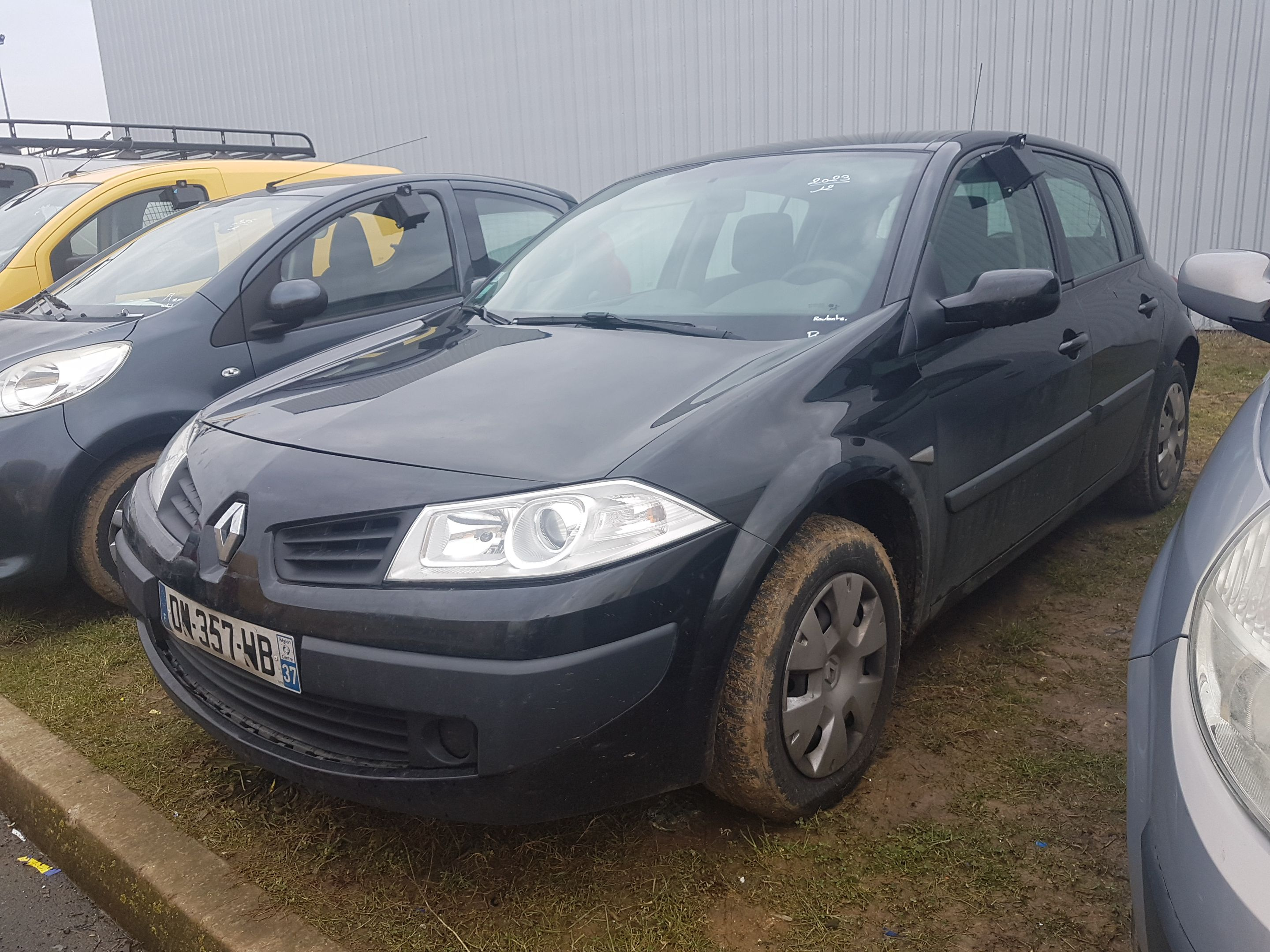 renault megane ii berline 12 2005 04 2009 m gane ii 1 5 dci 85 expression alcopa auction. Black Bedroom Furniture Sets. Home Design Ideas