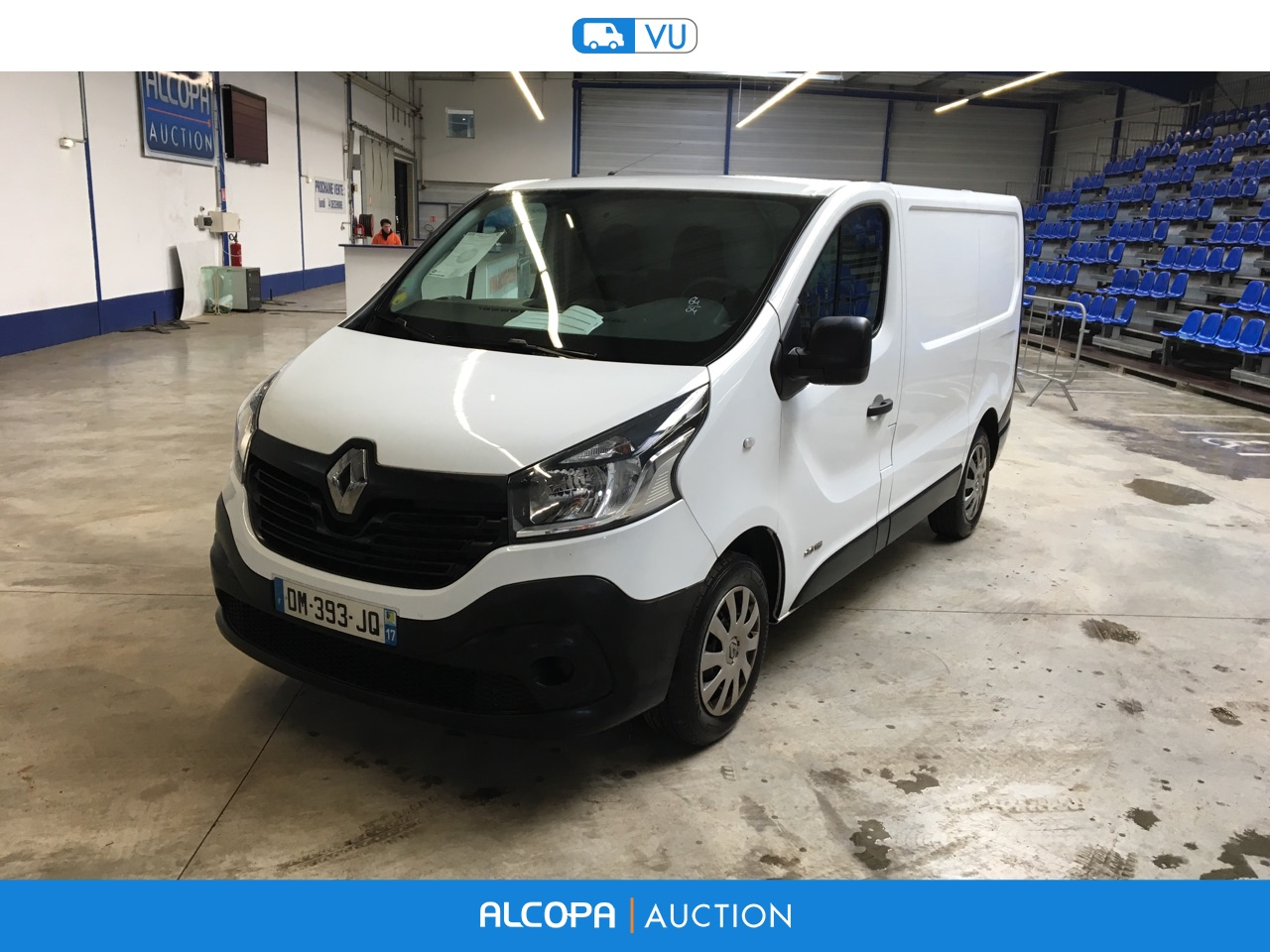 renault trafic trafic fg l1h1 1200 dci 115 grand confort beauvais alcopa auction. Black Bedroom Furniture Sets. Home Design Ideas