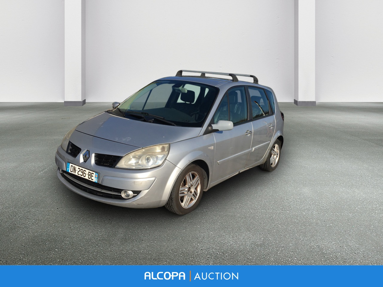 renault scenic ii 07 2006 04 2009 scenic 1 5 dci 105 eco2 exception marseille alcopa auction. Black Bedroom Furniture Sets. Home Design Ideas