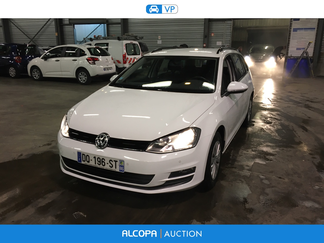 volkswagen golf golf sw 1 6 tdi 105ch bluemotion technology fap trendline bu nancy alcopa. Black Bedroom Furniture Sets. Home Design Ideas