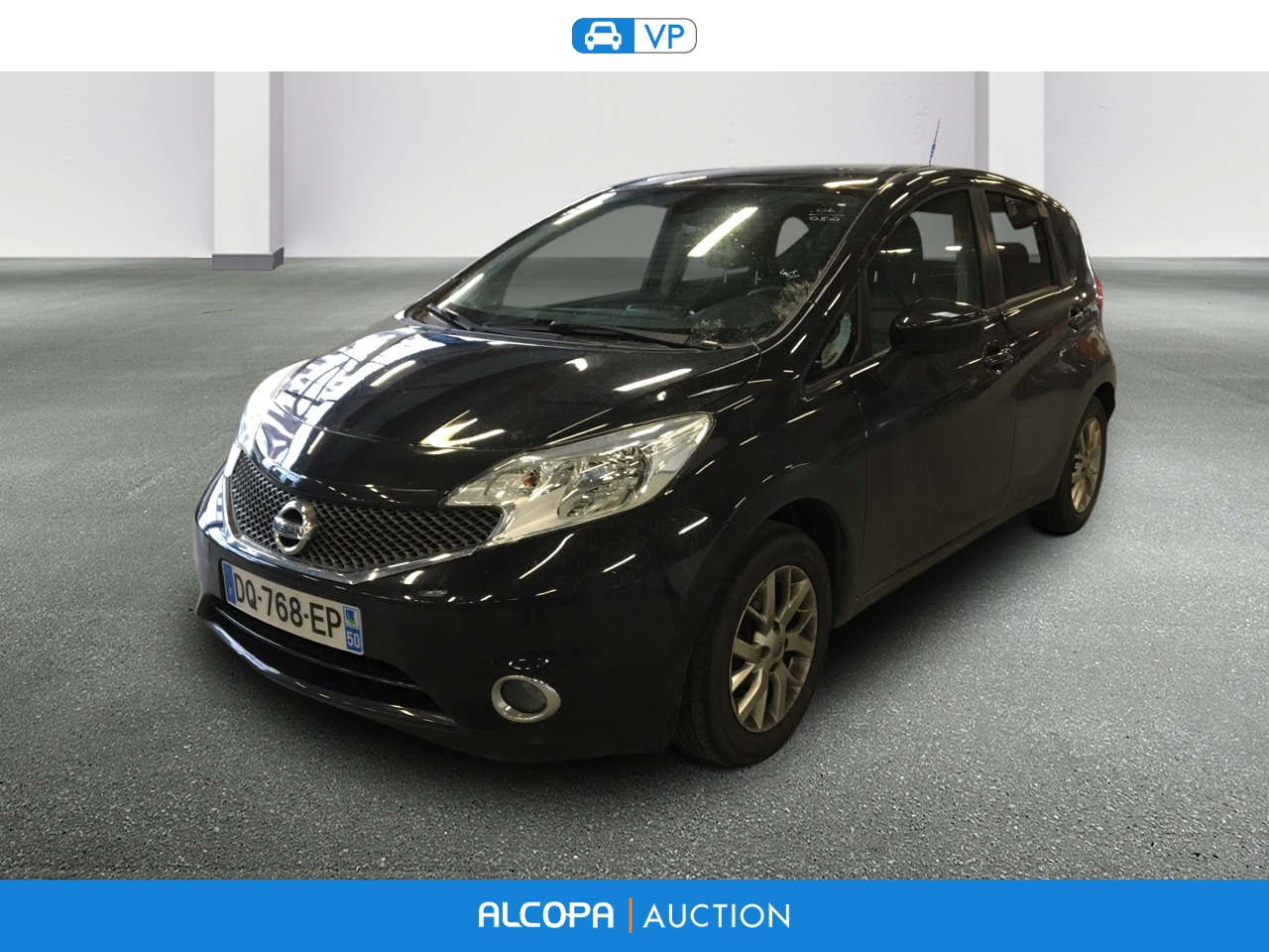 nissan note 07 2013 note 1 5 dci 90 connect edition alcopa auction. Black Bedroom Furniture Sets. Home Design Ideas