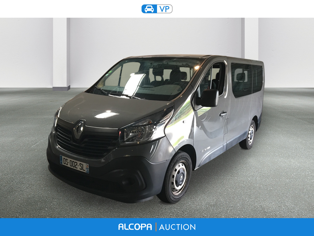renault trafic trafic 1 6 dci 125 energy life 9 places nancy alcopa auction. Black Bedroom Furniture Sets. Home Design Ideas