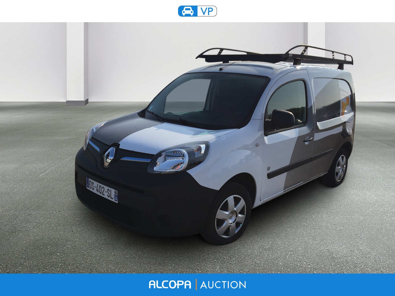 renault kangoo express ze kangoo z e grand confort bva alcopa auction. Black Bedroom Furniture Sets. Home Design Ideas