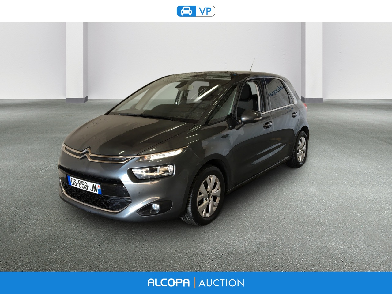 citroen c4 picasso 04 2013 06 2016 c4 picasso e hdi 115 intensive etg6 alcopa auction. Black Bedroom Furniture Sets. Home Design Ideas