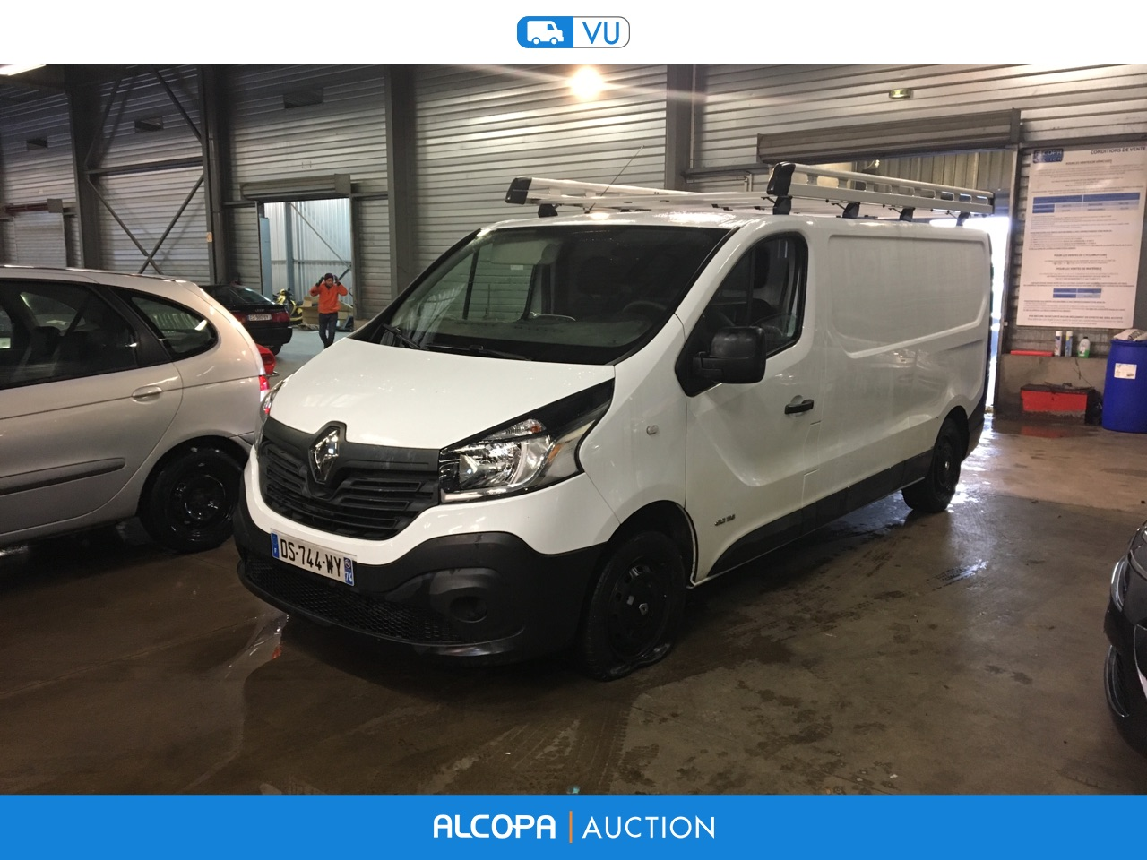 renault trafic trafic fg l2h1 1200 dci 115 confort nancy alcopa auction. Black Bedroom Furniture Sets. Home Design Ideas