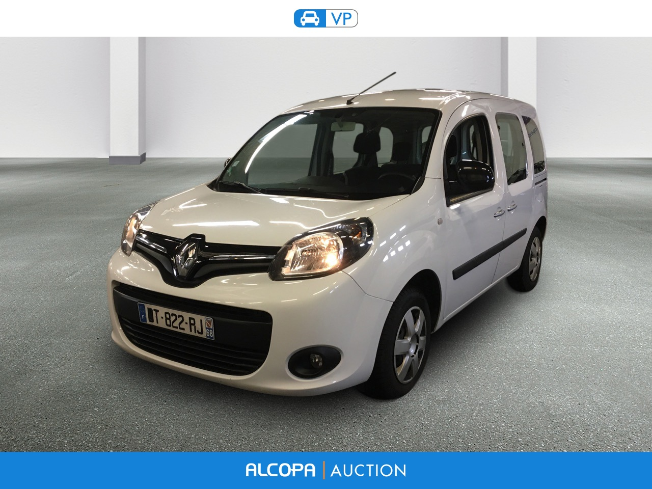renault kangoo 02 2013 kangoo dci 75 energy zen alcopa auction. Black Bedroom Furniture Sets. Home Design Ideas