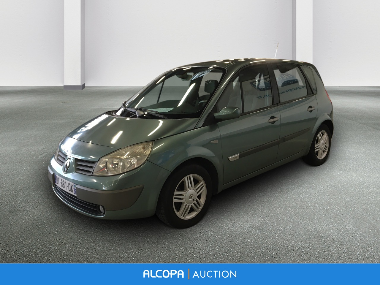renault scenic ii scenic 1 9 dci 120 luxe dynamique alcopa auction. Black Bedroom Furniture Sets. Home Design Ideas