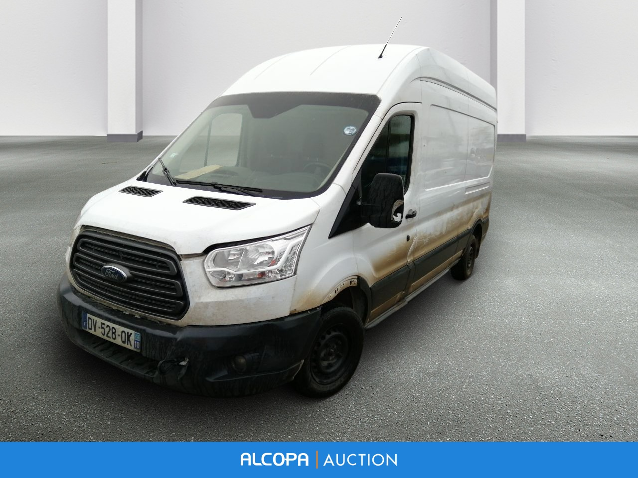 ford transit fourgon transit fourgon t310 l3h3 2 2 tdci 125 trend alcopa auction. Black Bedroom Furniture Sets. Home Design Ideas