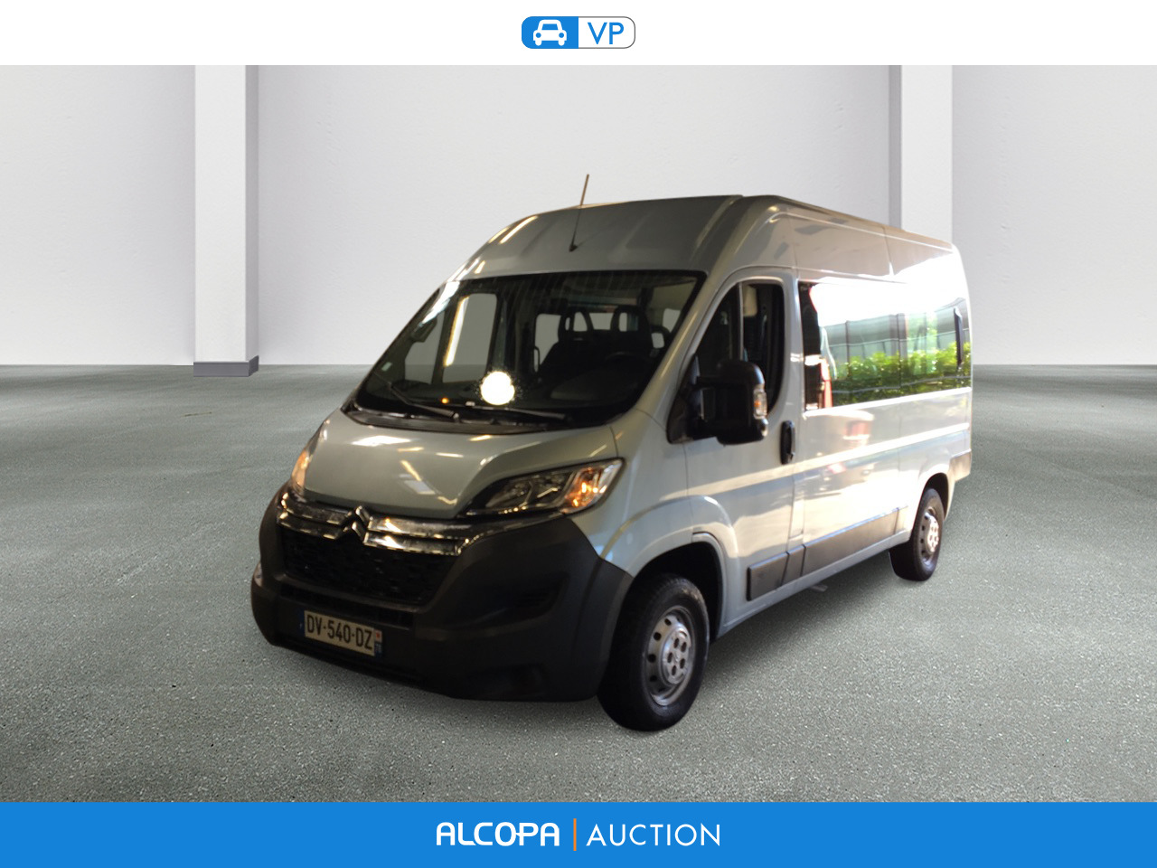 citroen jumper jumper 33 l2h2 e hdi 130 combi attraction alcopa auction. Black Bedroom Furniture Sets. Home Design Ideas