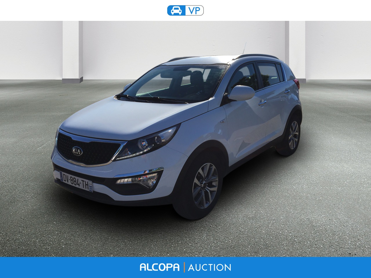 kia sportage sportage 1 7 crdi 115 isg 4x2 s rie limit e origins alcopa auction. Black Bedroom Furniture Sets. Home Design Ideas
