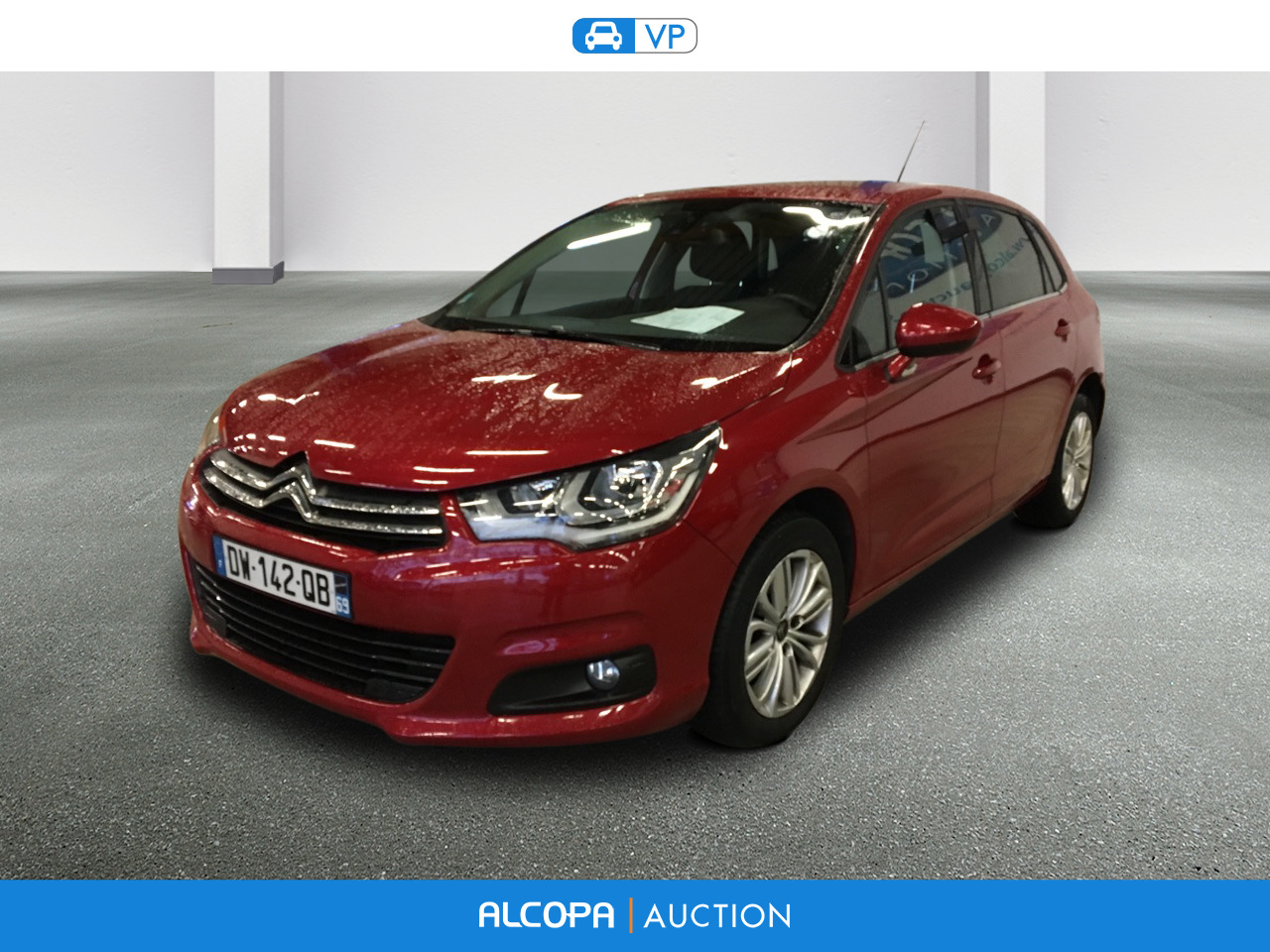 citroen c4 c4 bluehdi 120ch millenium business s s eat6 rennes alcopa auction. Black Bedroom Furniture Sets. Home Design Ideas