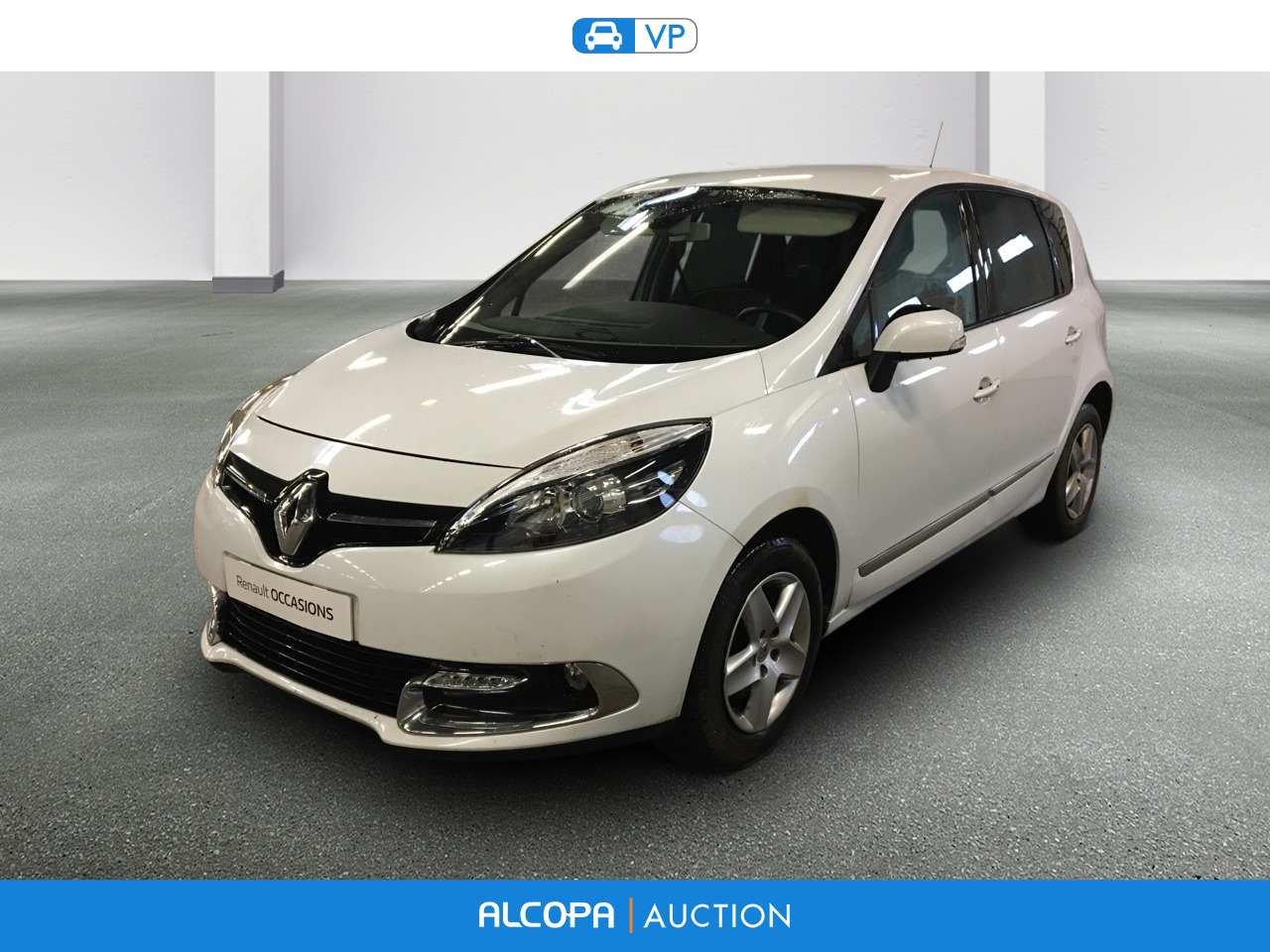 renault scenic iii business 02 2013 09 2016 scenic dci 110 energy eco2 business alcopa auction. Black Bedroom Furniture Sets. Home Design Ideas