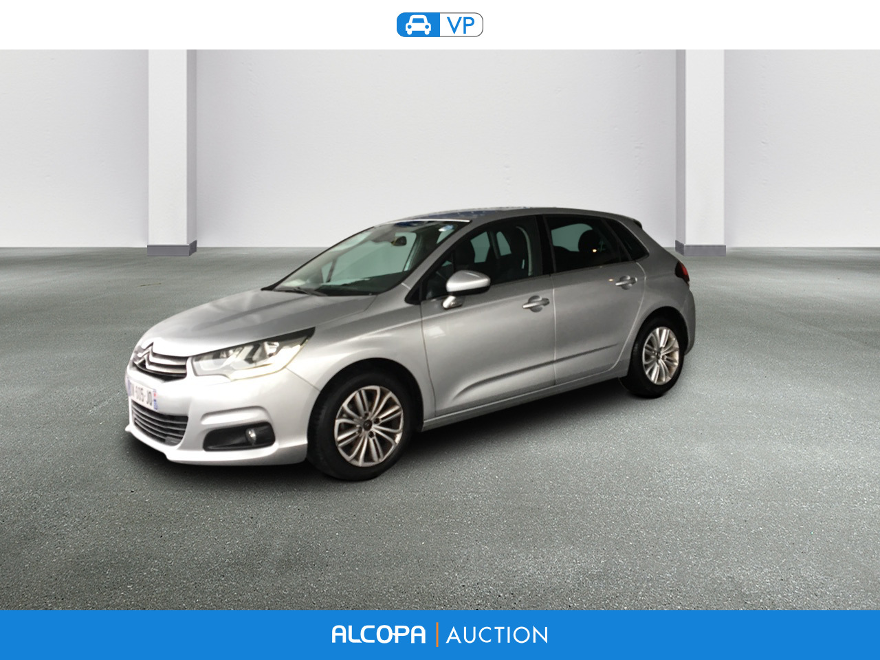 citroen c4 business blue hdi 100 s s bmv 86g millenium alcopa auction. Black Bedroom Furniture Sets. Home Design Ideas