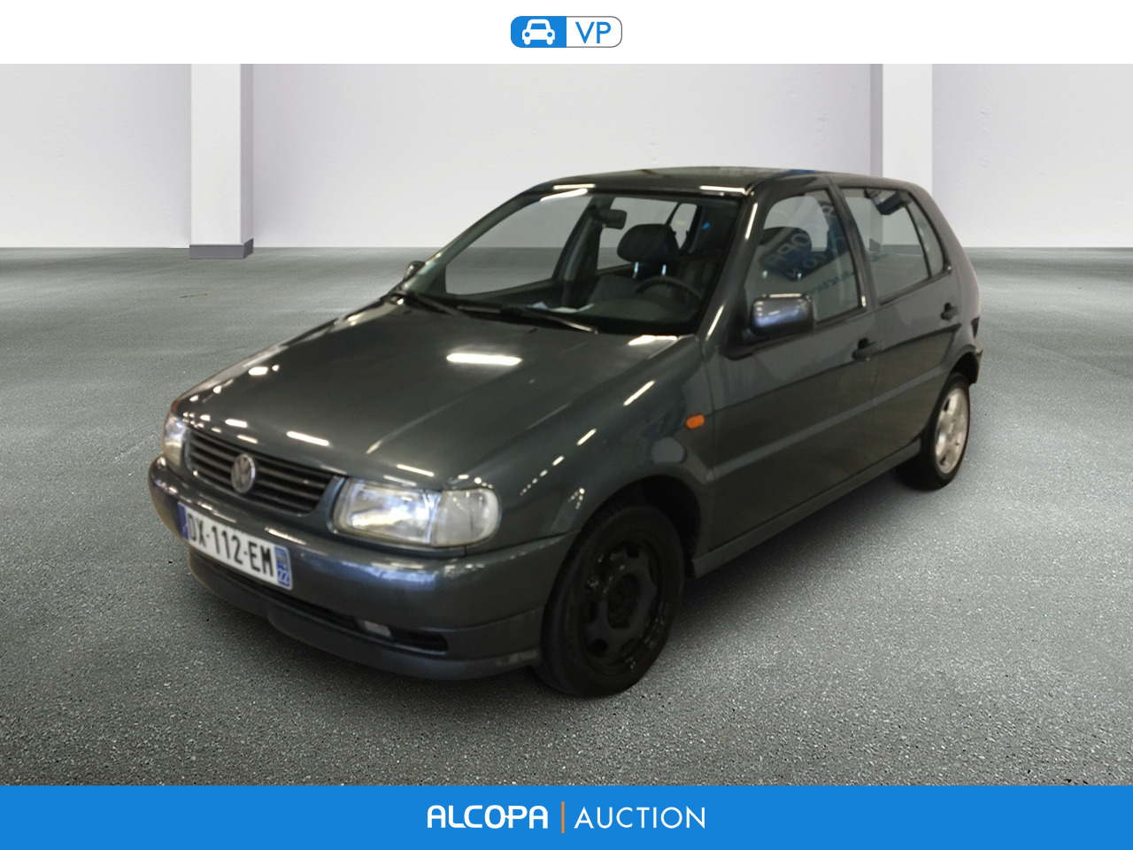 volkswagen polo polo 1 6 75ch carat 5p rennes alcopa auction. Black Bedroom Furniture Sets. Home Design Ideas