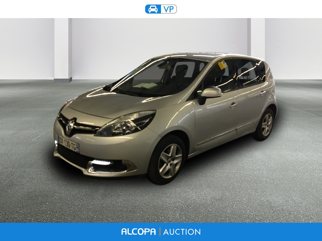 renault scenic iii business scenic dci 110 business edc alcopa auction. Black Bedroom Furniture Sets. Home Design Ideas