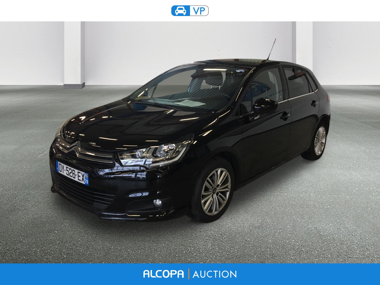 citroen c4 c4 bluehdi 100ch millenium business s s 86g alcopa auction. Black Bedroom Furniture Sets. Home Design Ideas