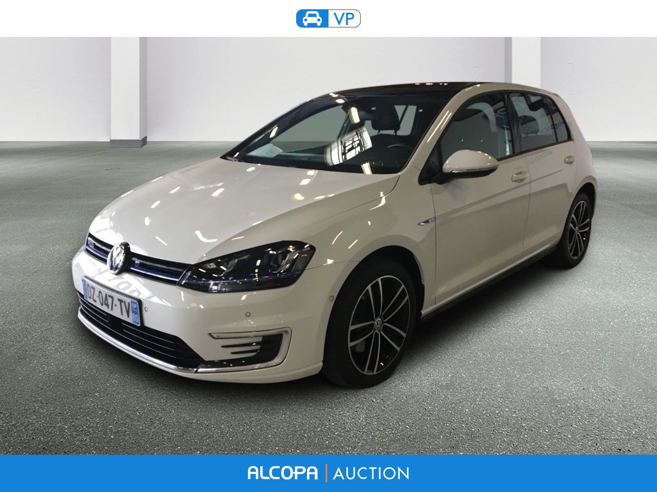 volkswagen golf 09 2012 02 2017 golf 1 4 tsi 204 hybride rechargeable dsg6 gte alcopa auction. Black Bedroom Furniture Sets. Home Design Ideas
