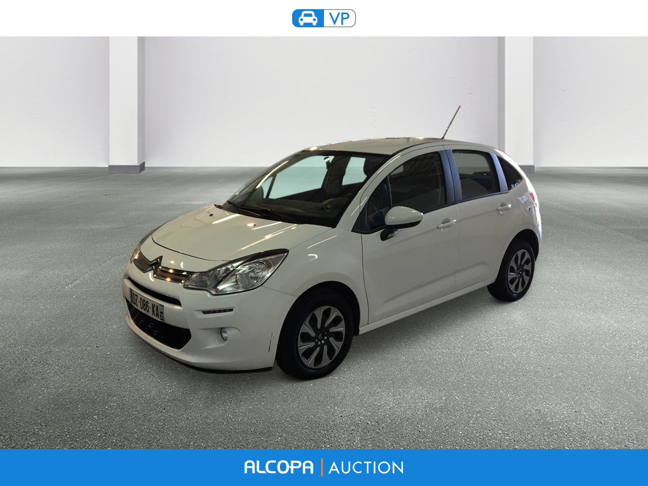 citroen c3 c3 ste 1 6 bluehdi 75 confort tours alcopa auction. Black Bedroom Furniture Sets. Home Design Ideas