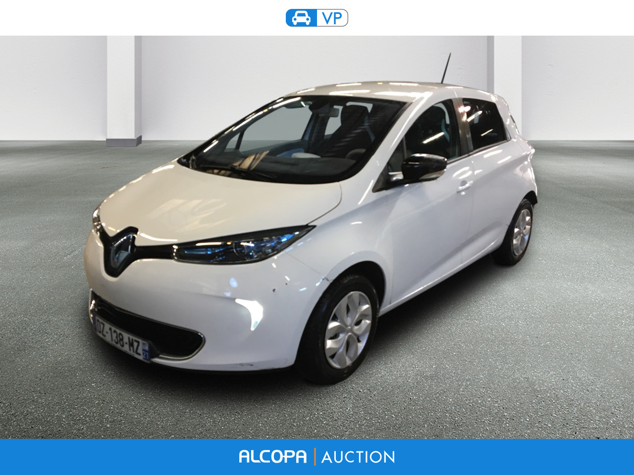 renault zoe zoe life type 2 sans contrat batterie nancy alcopa auction. Black Bedroom Furniture Sets. Home Design Ideas