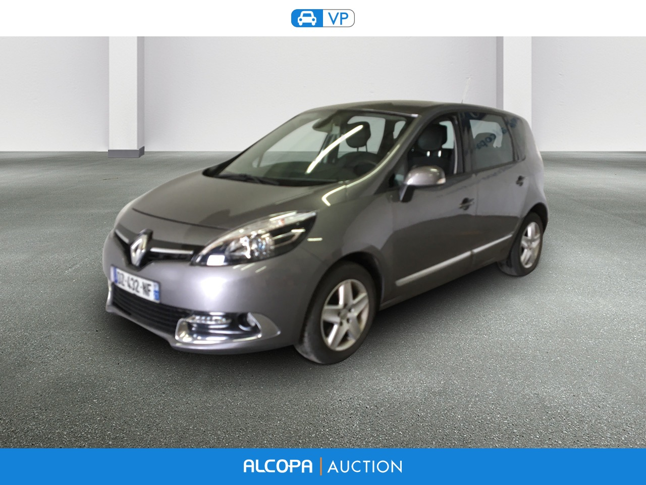 renault scenic iii business scenic dci 110 energy eco2 business alcopa auction. Black Bedroom Furniture Sets. Home Design Ideas