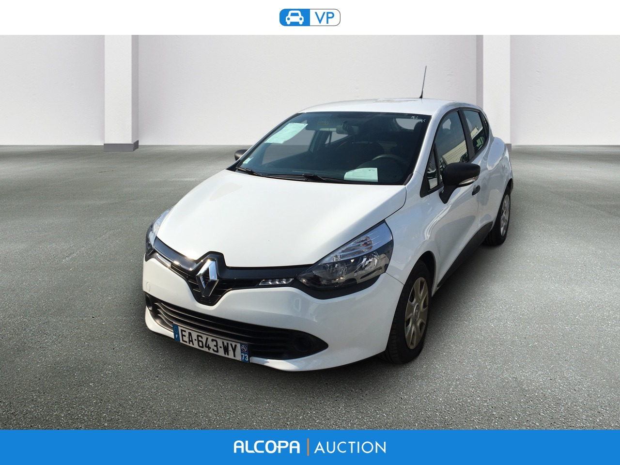 renault clio iv societe dci 75 energy air alcopa auction. Black Bedroom Furniture Sets. Home Design Ideas