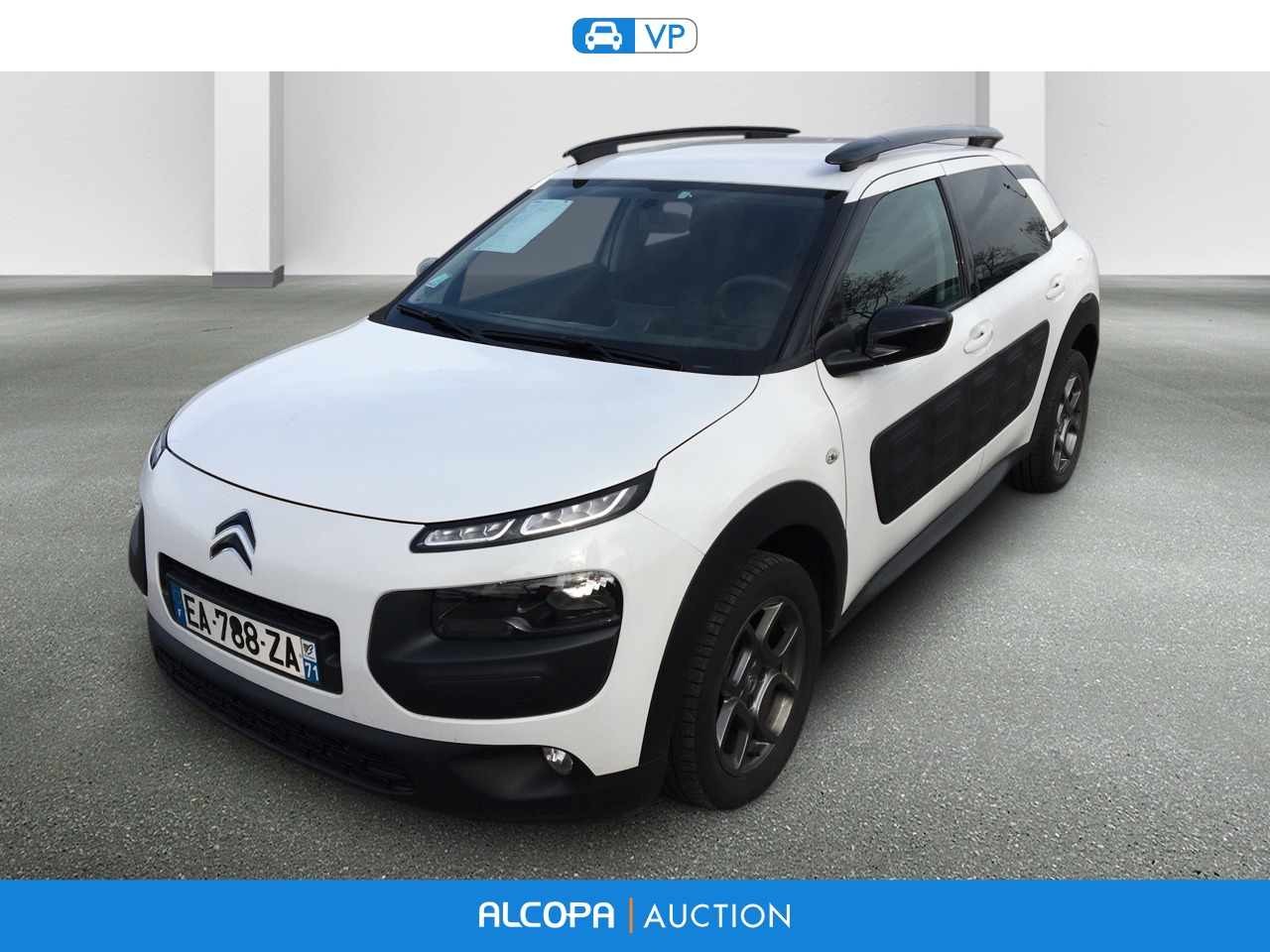 citroen c4 cactus 03 2014 12 2017 c4 cactus puretech 82 feel edition alcopa auction. Black Bedroom Furniture Sets. Home Design Ideas