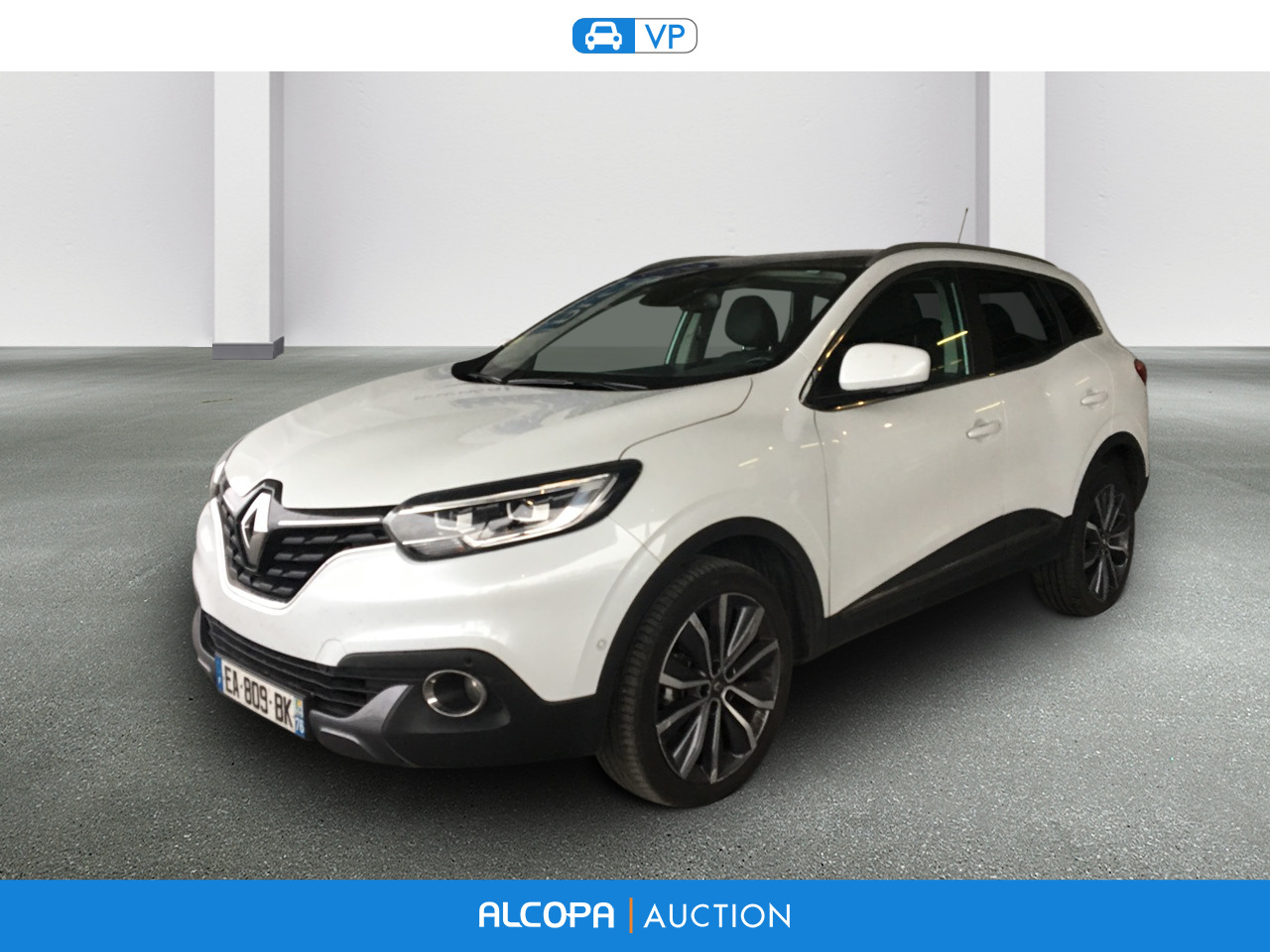 renault kadjar 06 2015 kadjar dci 130 energy 4wd intens bv6 alcopa auction. Black Bedroom Furniture Sets. Home Design Ideas