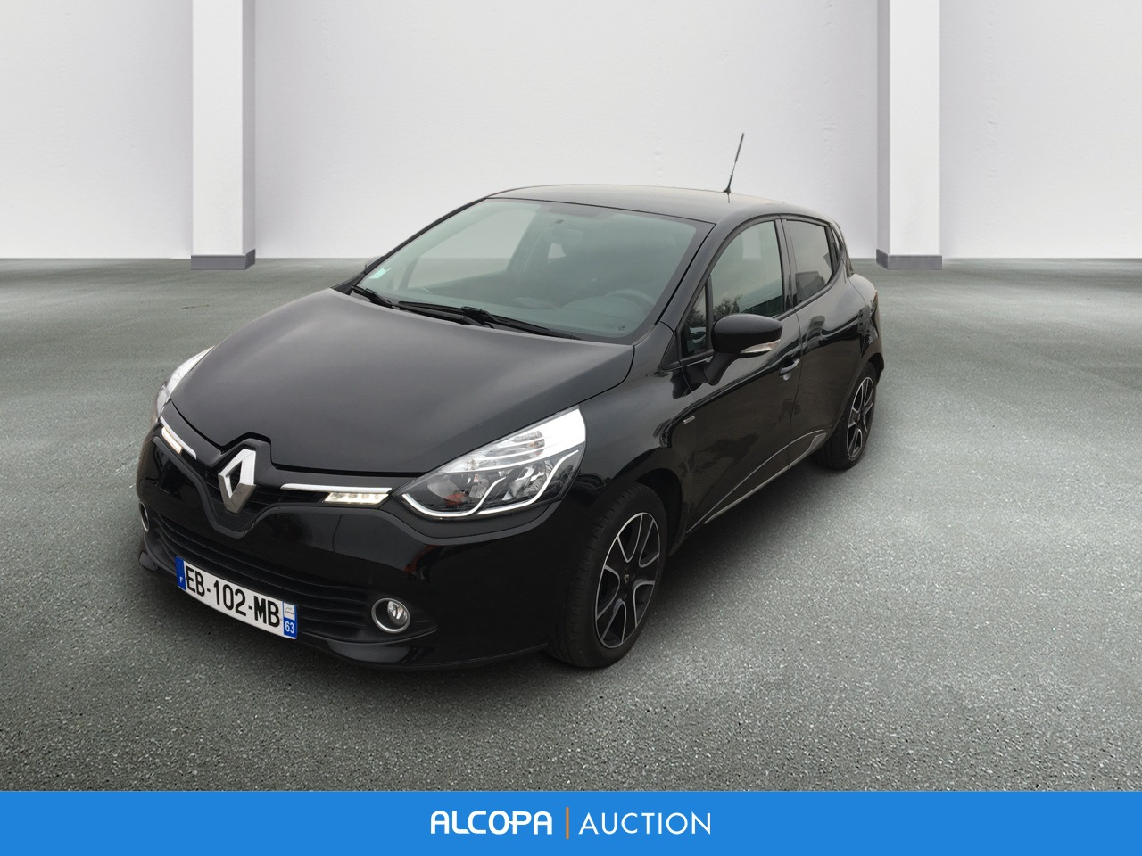 renault clio iv clio iv tce 90 sl limited alcopa auction. Black Bedroom Furniture Sets. Home Design Ideas