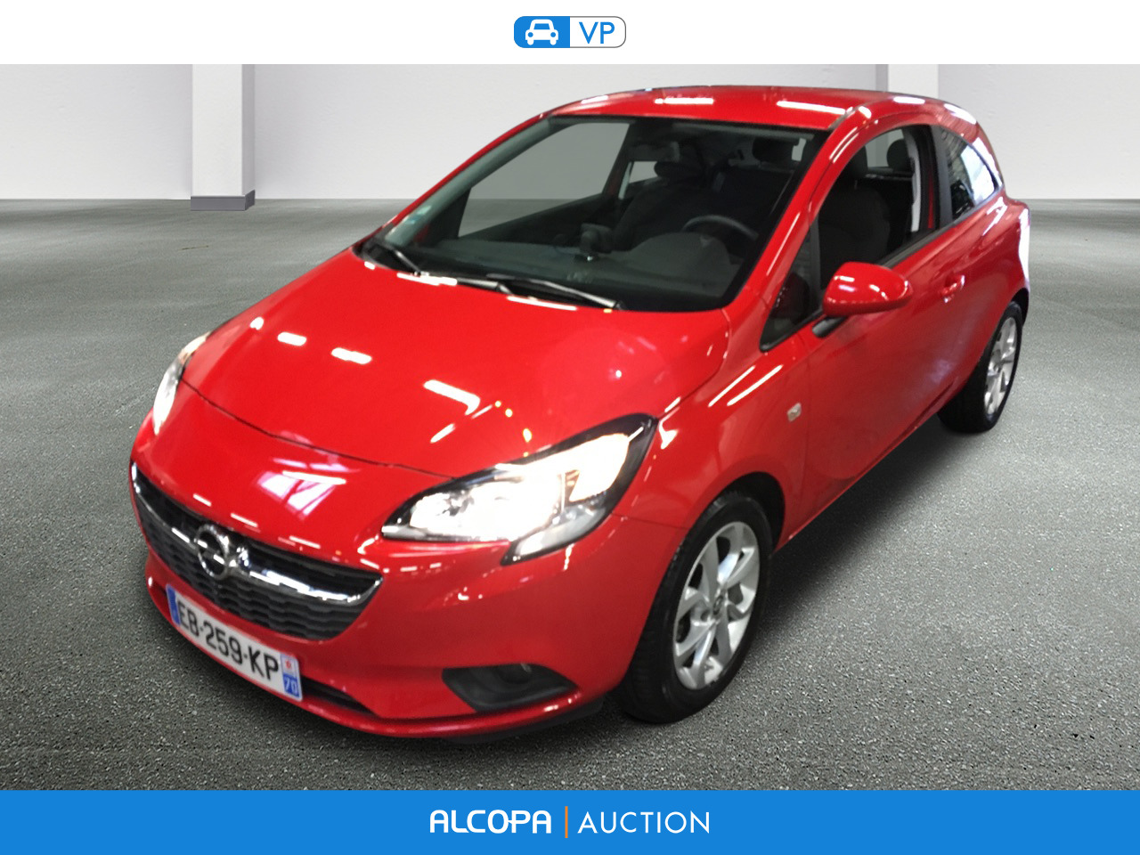 opel corsa corsa 1 4 turbo 100ch sport start stop alcopa auction. Black Bedroom Furniture Sets. Home Design Ideas