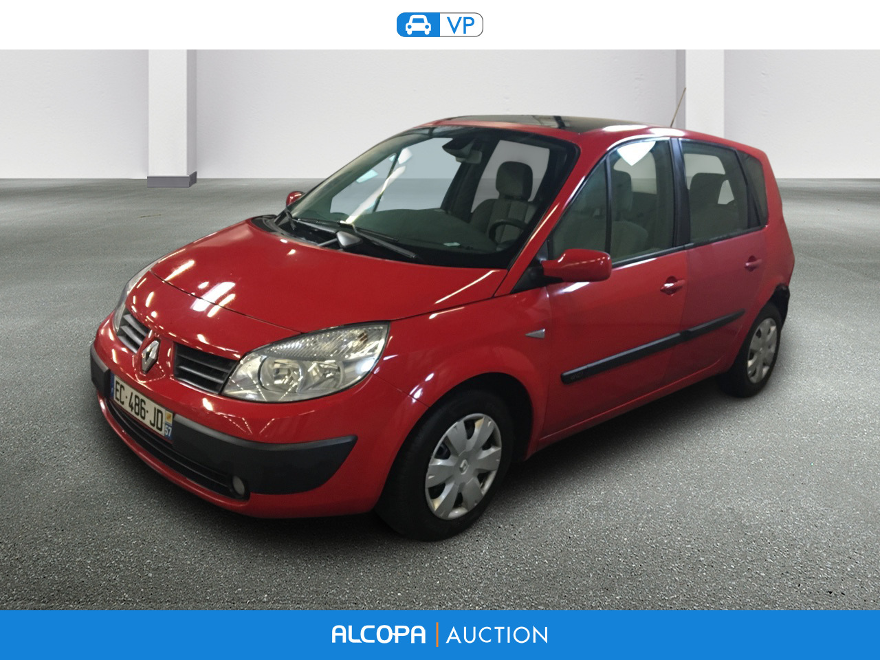 renault scenic scenic 1 5 dci105 latitude nancy alcopa auction. Black Bedroom Furniture Sets. Home Design Ideas