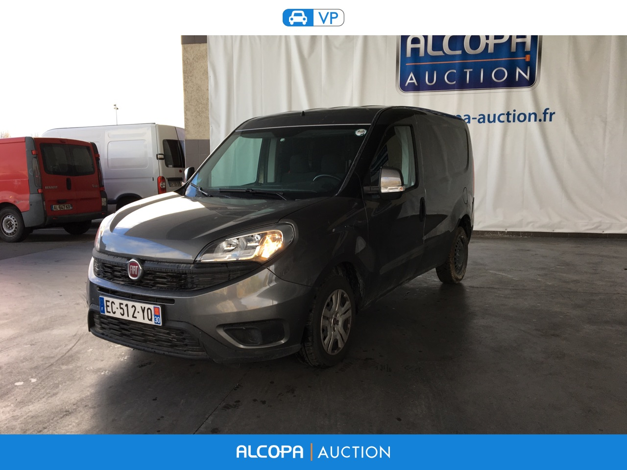 fiat doblo doblo cargo 1 6l mjt 90 pack professional bva lyon alcopa auction. Black Bedroom Furniture Sets. Home Design Ideas