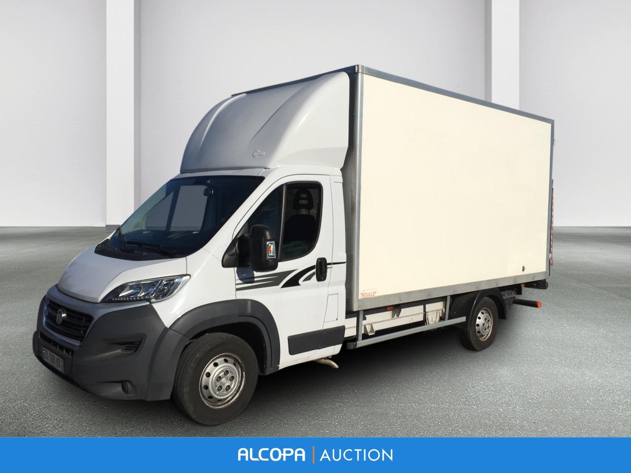 fiat ducato chassis cabine ducato cc maxi 2 3 mjt 130 pack pro nav caisse 20 m3 hayon alcopa. Black Bedroom Furniture Sets. Home Design Ideas