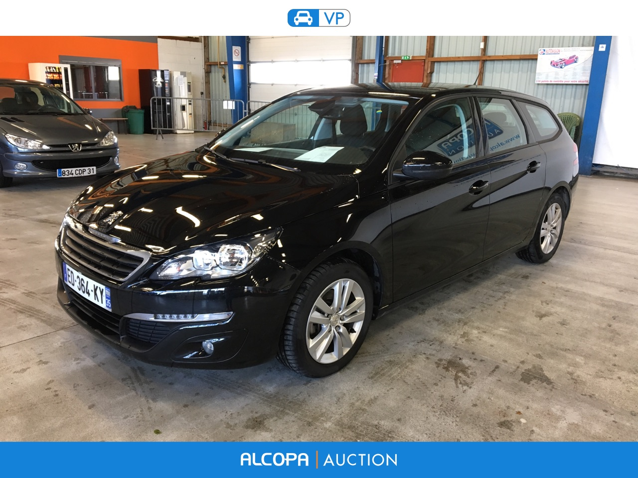 peugeot 308 308 sw 1 6 bluehdi 100ch active business s s rennes alcopa auction. Black Bedroom Furniture Sets. Home Design Ideas