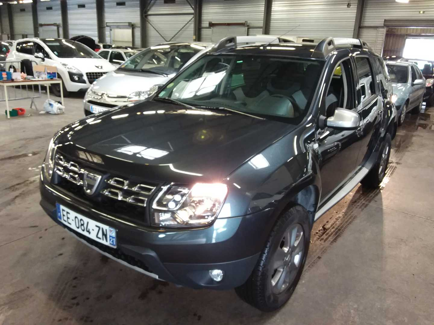 dacia duster duster dci 110 4x2 prestige edition 2016 alcopa auction. Black Bedroom Furniture Sets. Home Design Ideas