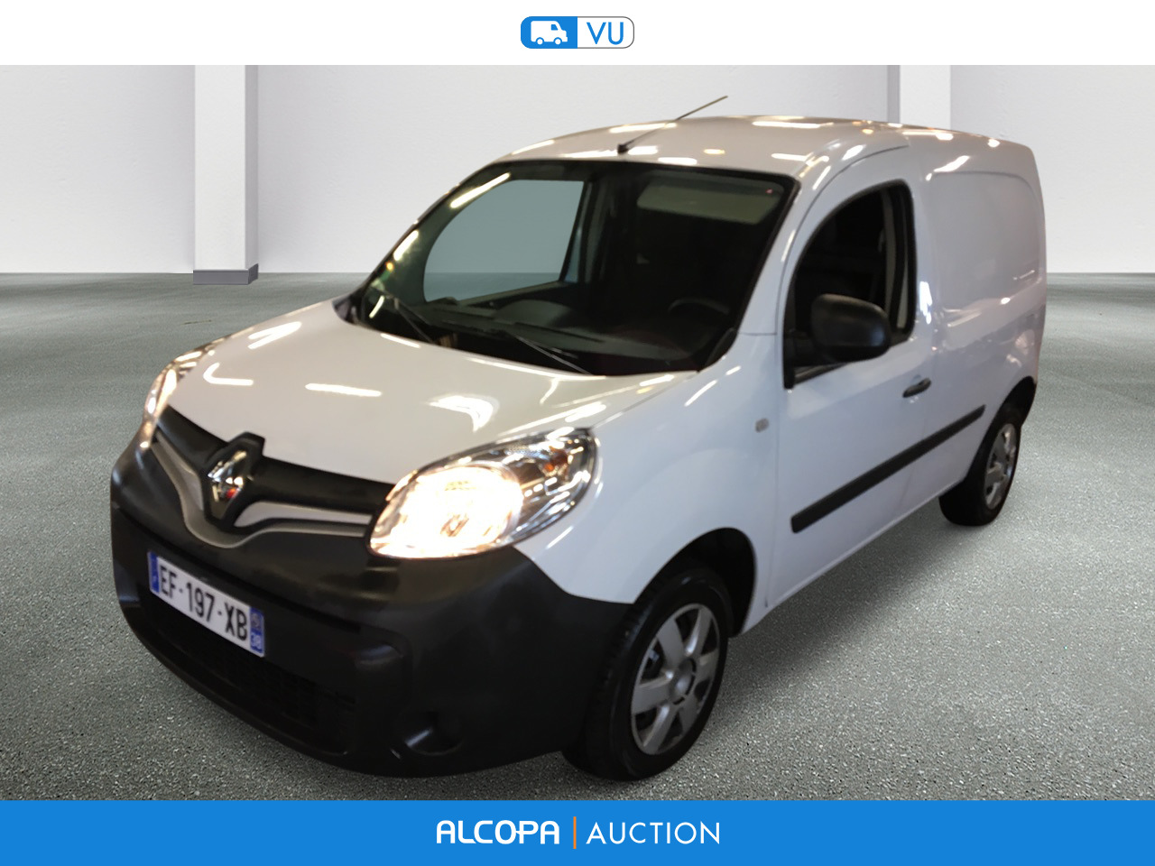renault kangoo kangoo express 1 5 dci 75 energy grand confort e6 alcopa auction. Black Bedroom Furniture Sets. Home Design Ideas