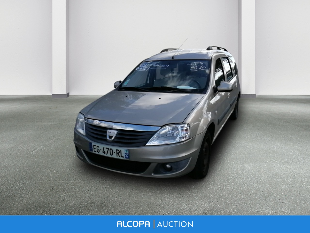 dacia logan mcv logan mcv 1 6 mpi 7 places prestige alcopa auction