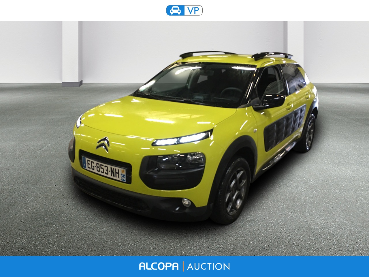 citroen c4 cactus 03 2014 12 2017 c4 cactus bluehdi 100 feel edition alcopa auction. Black Bedroom Furniture Sets. Home Design Ideas